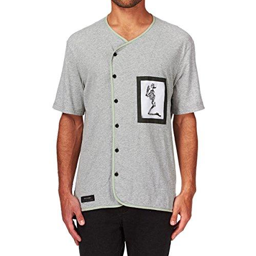 Religion -  Camicia Casual  - Moda - Uomo Grigio grigio
