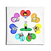 Fly Fish Unique Undertale Game Throw Pillow Case One Side 18 Inches Square by F-Fish Pillow Fitting [並行輸入品]