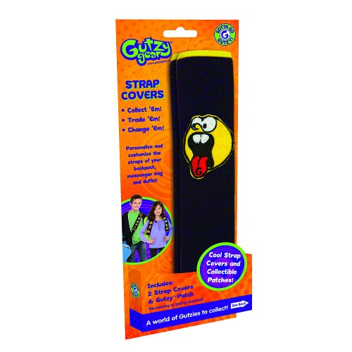 Gutzy Gear Backpack Strap Covers and Screaming Joe Patch - 1