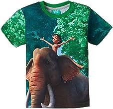 Jungle Book Boys' T-Shirt (JB 1509_Green_7-8 years)