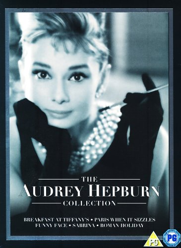 Audrey Hepburn Boxset  (Breakfast at Tiffany's, Roman Holiday, Paris When it Sizzles, Sabrina, Funny Face) [DVD] [1961]