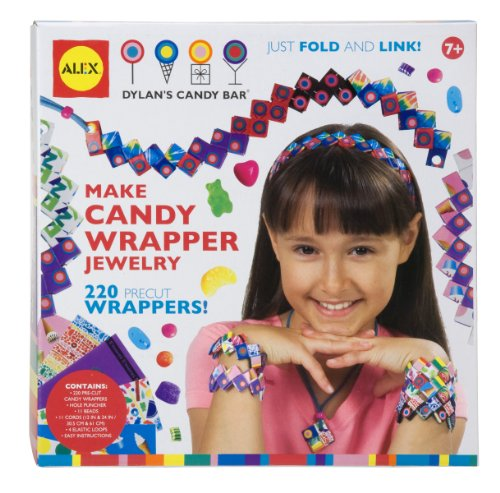 ALEX® Toys - Do-it-Yourself Wear! Make Candy Wrapper Jewelry -Dylan's Candy Bar 759D