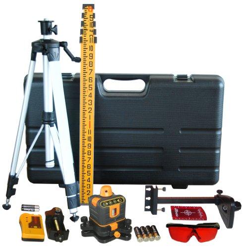 Johnson Level and Tool 40-6512 Manual Leveling Rotary Laser Level