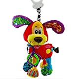 New Baby Hot New Baby Newborn Gift Bed Hanging Dog Plush Rattle Teether Educational Toys