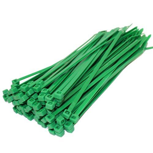all-trade-direct-juego-de-bridas-para-cables-200-x-48-mm-50-unidades-color-verde
