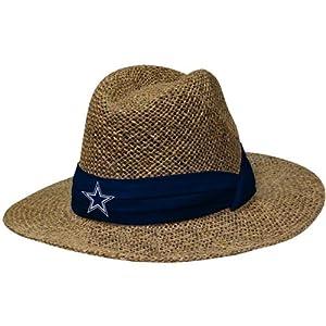 Dallas cowboys pre season coach 39 s straw hat for Dallas cowboys fishing hat