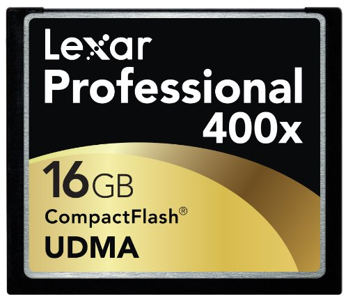 Lexar 16 GB 400x Flash Memory Card LCF16GCTBNA400