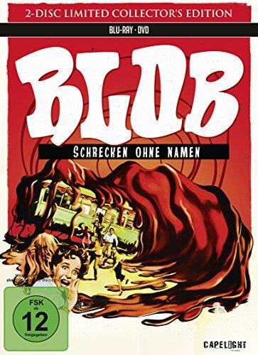 Blob - Schrecken ohne Namen (Restaurierte Fassung) im limitierten Mediabook [1 Blu-Ray + 1 DVD] [Limited Collector's Edition] [Limited Edition]