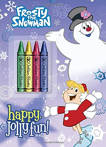Frosty the Snowman: Happy, Jolly Fun! [With 4 Jumbo Crayons]