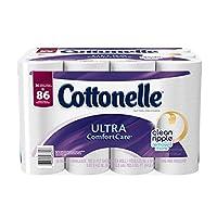 Cottonelle Ultra ComfortCare Family Roll Toilet Paper Bath Tissue, 36 Rolls