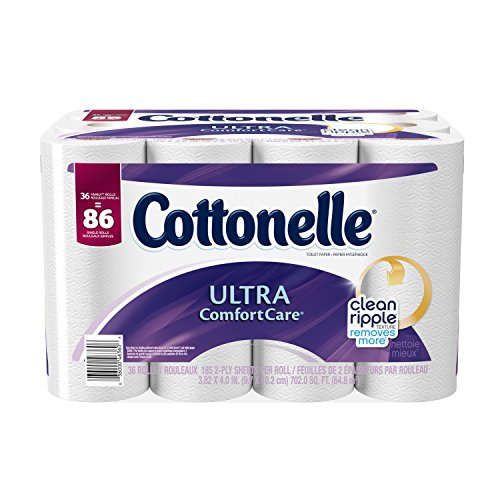Cottonelle Ultra ComfortCare Family Roll Toilet Paper Bath