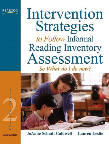 Intervention Strategies to Follow Informal Reading...