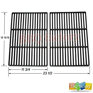 60662 Porcelain Cast Iron Cooking Grid Grate Replacement for Select Gas Grill Models by... by bbq factory