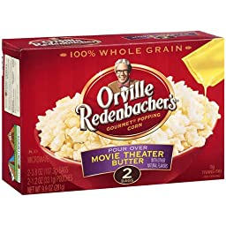 *Orville Redenbacher\'s Pour Over Movie Theater Butter 2 pk Microwave Popcorn 9.9 oz (Pack of 12)