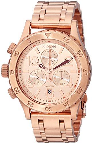 Nixon A404 1044 38 20 00-Chrono Orologio oro rosa