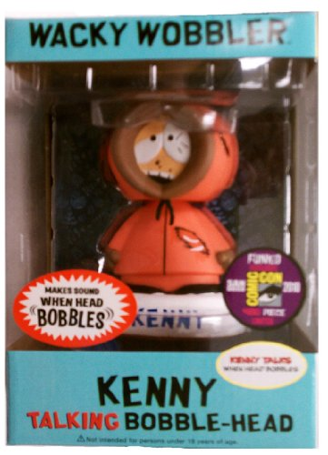 2010 SDCC Funko Zombie Kenny Bobblehead Wacky Wobbler 1 of 480