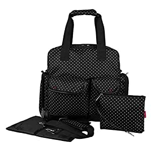 buy ecosusi diaper bag backpack baby bag multifunctional three ways maternity bag black online. Black Bedroom Furniture Sets. Home Design Ideas