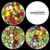 Papabubure papabubble candy M bottle (large) 1 point fruit mix Suites candy gift shop Stock