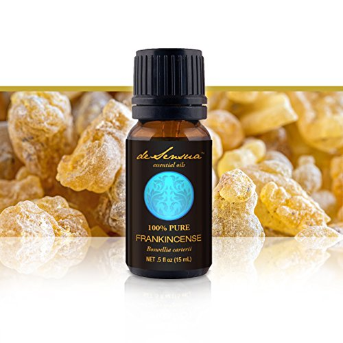 Frankincense Essential Oil 15Ml: Premium, Wildcrafted & 100% Pure. #1 For Stress Relief. Warm, Rich, Mood Enhancing Fragrance. Amazing For Aromatherapy. One Of The Best Homeopathic Remedies For Depression, Anxiety, Headaches & Pms. Money Back Guarantee. T front-61779