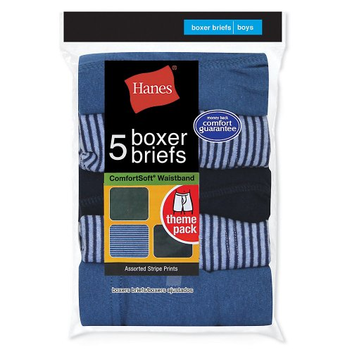 Hanes Little Boys' 5-Pack Red Label Prints Boxer Brief hanes little boys 5 pack red label prints boxer brief