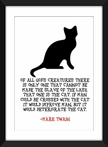 mark-twain-cat-imprimer-citation-art-a3-a4-a5-8-x-510-x-7-typographie-art-pour-des-amants-de-chat