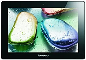 Lenovo S6000 10.1-inch Tablet (Black) - (Quad Core 1.2GHz Processor, 1GB RAM, 16GB eMMC, WLAN, BT, 2x camera, Android 4.2) by Lenovo