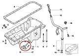 BMW E46 325i 330i M3 Oil Level Sensor