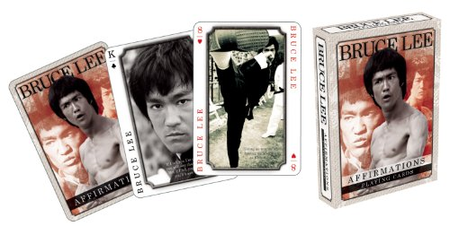 Bruce Lee Affirmations Playing Cards