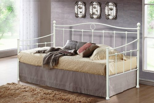 3 FOOT TORINO CREAM DAY BED