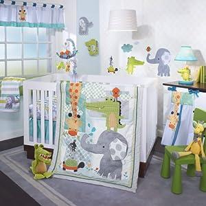 Lambs & Ivy Crib Bedding Set, Yoo-Hoo, 4 Piece from Lambs Ivy