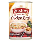 Baxters Traditional Chicken Broth Soup 6x400g