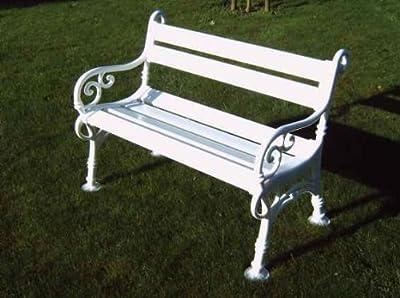 Blome Landhausbank weiss Linderhof 2-Sitzer von Blome bei Gartenmöbel von Du und Dein Garten