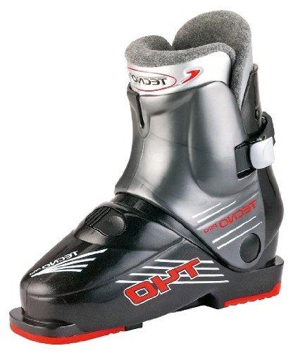 Tecno Pro Ski-Stiefel T40 Kinder schwarz/grau, Größe:16.5