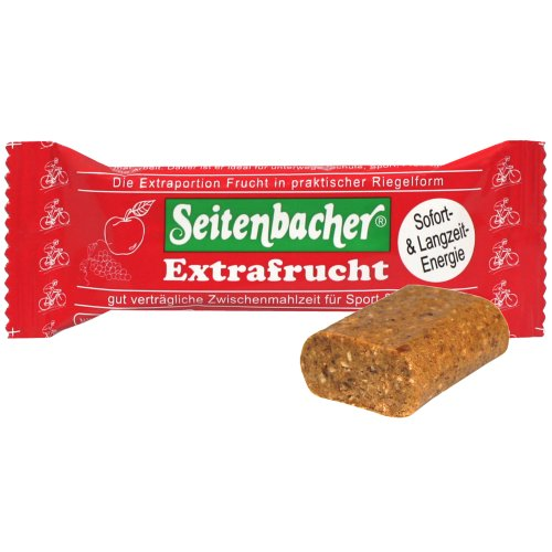 Seitenbacher Extrafrucht-Riegel  78% Fruchtanteil, 6er Pack (6 x 50 g)
