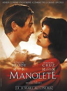 Manolete Movie Poster (27 x 40 Inches - 69cm x 102cm) (2007) French -(Adrien Brody)(Penélope Cruz)(Nacho Aldeguer)(Enrique Arce)(Dritan Biba)(Pedro Casablanc)