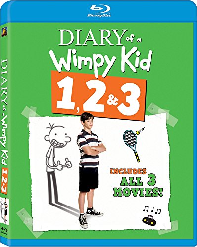 Diary of a Wimpy Kid 1, 2 & 3 Blu-ray