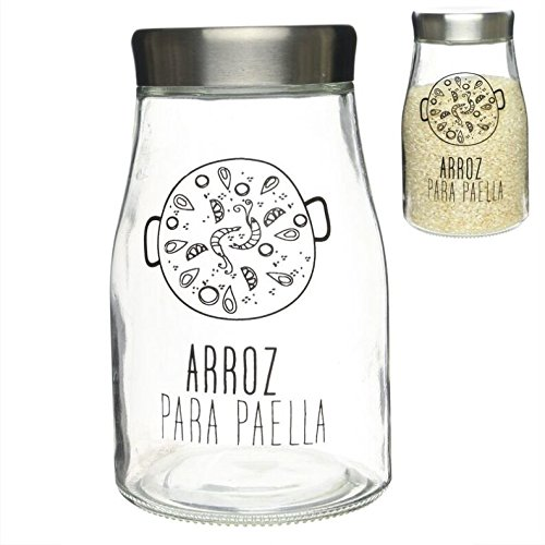 """Vaso Vetro """""""" Riso Paella """""""" L"""