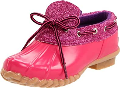 Khombu Glitter Bean Lo,Fuschia,11 M US Little Kid