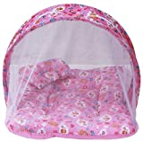 Firststep baby pink mosquito net bed for your little baby (32*17inchs)