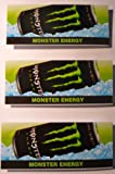 3-Pack Generic Monster Energy Drink Vending Flavorstrip Label