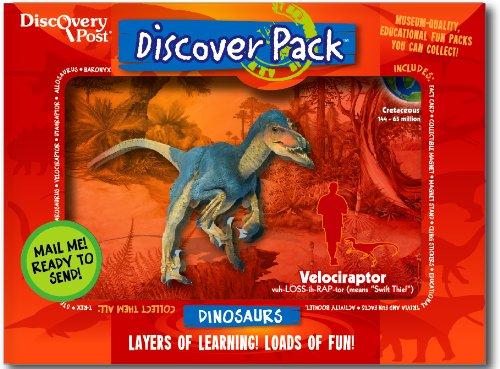 Dinosaur Discover Pack, Velociraptor