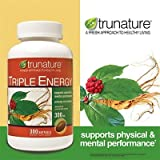 Trunature Triple Energy Ginseng and Eleutherococcus 300 Softgels