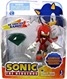 Sonic The Hedgehog 3-inch Action Figure Knuckles and Emerald