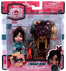 Amazon.com: Wreck-it Ralph Vanellope Von Schweetz & her Candy Kart