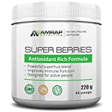 Super Berries Powder | AMRAP Nutrition - Contains 11 Powerful Antioxidant Rich Super Berry Juice Powders.