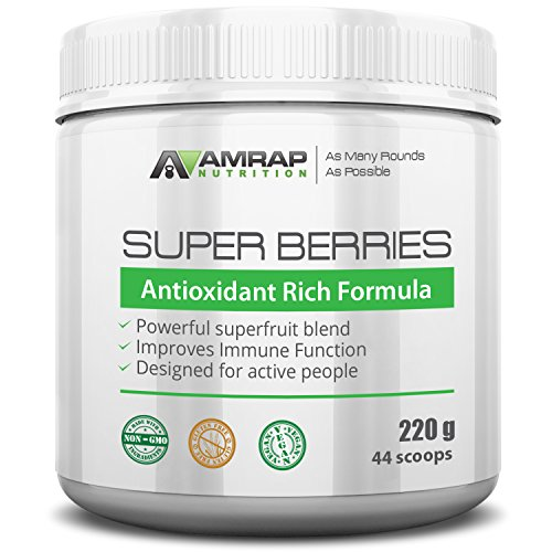AMRAP Nutrition - Super Berries - All-Natural Organic Super Berry Juice Blend - Antioxidant-Rich Formula - Supports Immune System - Reduces Oxidative Stress from Workouts (Super Colon Blow compare prices)