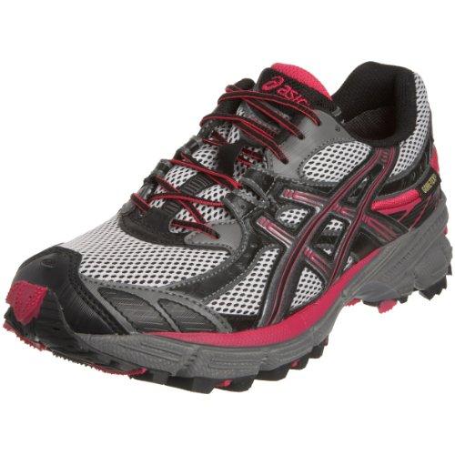 Asics Schuh Frauen Moriko 5, schwarz/rot, 7