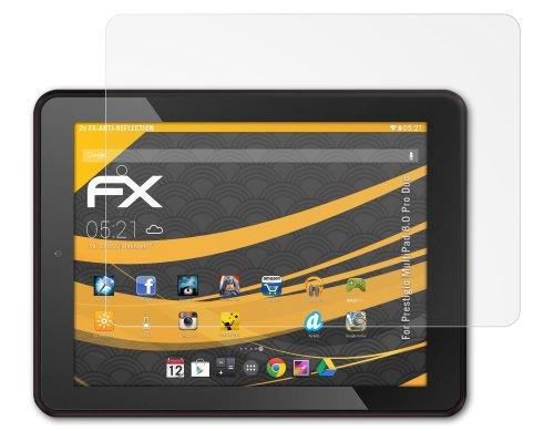 2 x atFoliX Schutzfolie Prestigio MultiPad 8.0 Pro Duo - FX-Antireflex blendfrei
