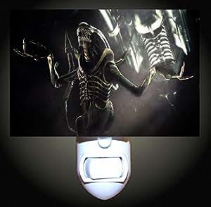 Alien Scream Decorative Night Light Home