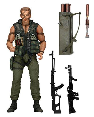"""NECA Commando Scale 30th Anniversary Ultimate John Matrix Action Figure, 7"""""""
